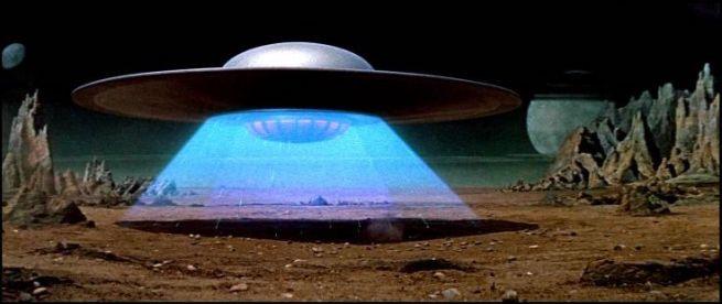 alien forbiddenplanet saucer