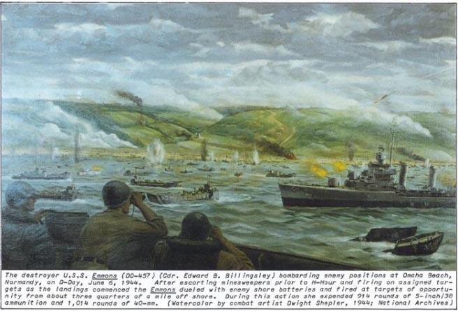 USS Emmons ohama