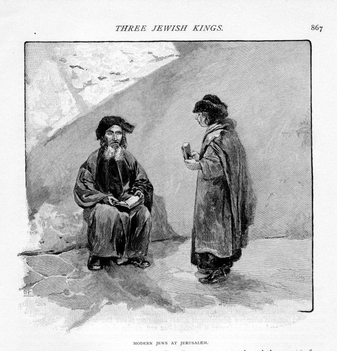 Jerusalem, Modern Jews, Century, October 1889 vol 38, No 6