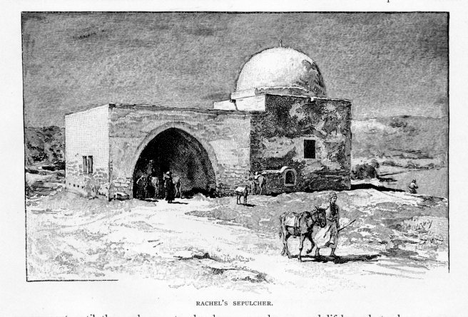 Jerusalem, Rachel's Sepulcher, Century, October 1889 vol 38, No 6